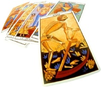 What should we do with the reversed cards in a Tarot layout?