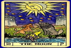 The Moon Tarot Love