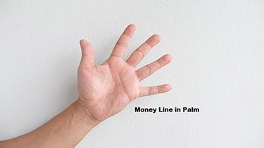 money line in palm reading