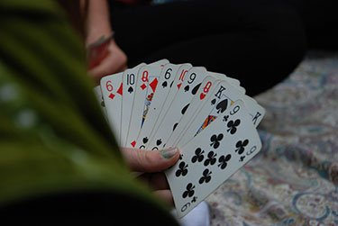 use playing cards for tarot readings